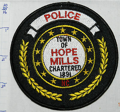 North Carolina, Hope Mills Police Dept Patch