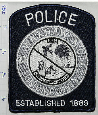 North Carolina, Waxham Police Dept Subdued Patch