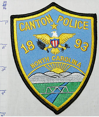 North Carolina, Canton Police Dept Patch