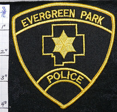 Illinois, Evergreen Park Police Dept Patch
