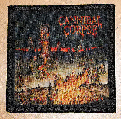 """CANNIBAL CORPSE """"A SKELETAL DOMAIN"""" silk screen PATCH"""