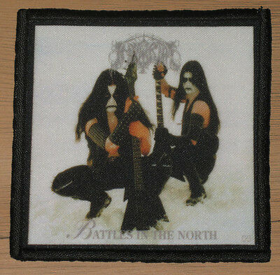 "IMMORTAL ""BATTLES IN THE NORTH"" silk screen PATCH"