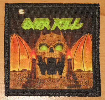 """OVERKILL """"THE YEARS OF DECAY"""" silk screen PATCH"""