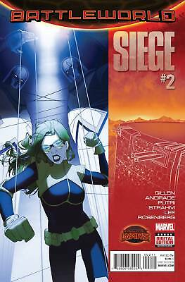 SIEGE #2 (Marvel Secret Wars 2015 1st Print) COMIC