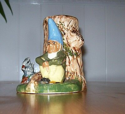Vintage Babbacombe Pottery,Elf/Pixie Vase,Hand Made & Painted in Torquay England