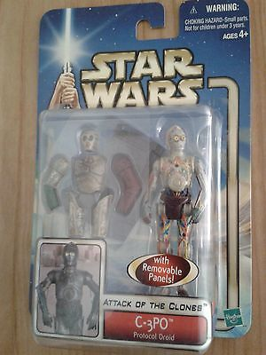 Star Wars Episode Ii Attack Of The Clones | C-3Po Action Figure 2002