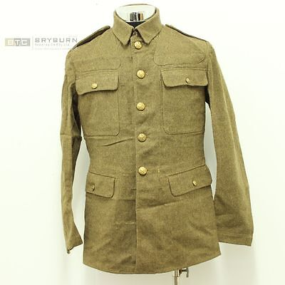 Original British WW1 Pattern O'Rs Service Dress Jacket/Tunic - P1922 - Not repro