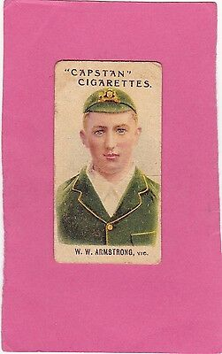 WILLS.( AUSTRALIA) SCARCE PROMINENT AUST.& ENG.CRICKETERS.No.?..CAT£14. ISS 1907