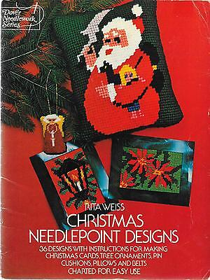 Dover Needlework Series - Christmas Needlepoint Designs - Rita Weiss