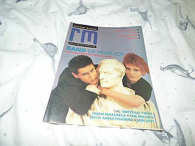 Record Mirror - 29/11/86, The Band Of Holy Joy / The Communards / Erasure / Wire