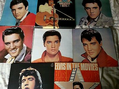 Elvis presley lp records box collection from readers digest 7 L.p.set