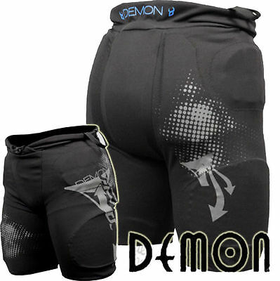 """30DY DEMON Flex Force Padded Snowboard Impact Shorts /  Protection 28-30"""" Small"""