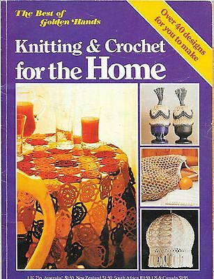 Knitting and Crochet For the Home