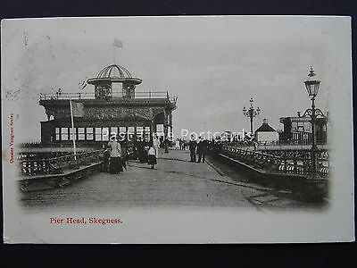 Lincolnshire SKEGNESS Pier Head c1904 Postcard by Chester Vaughan