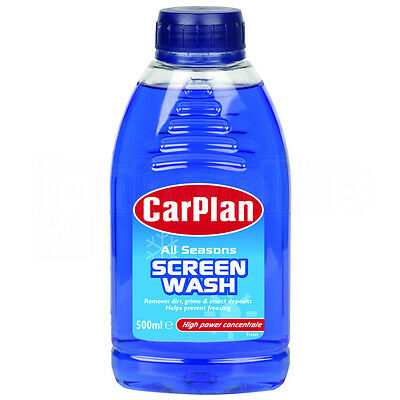 CarPlan All Seasons Windscreen Screenwash High Power Concentrate 500ml