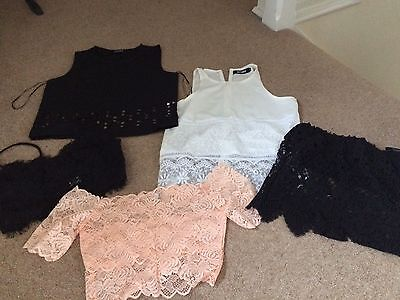 Bundle Missguided Tops Size 6