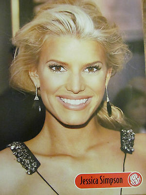 Jessica Simpson, Raven, Double Full Page Pinup