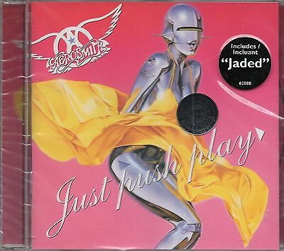 Aerosmith - Just Push Play (2001 CD) New & Sealed