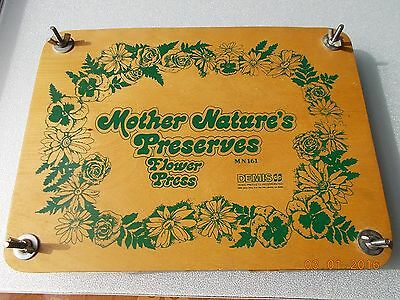 Demis Mother Nature's Preserves Flower Press, used