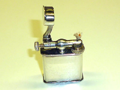 Vintage Mexican Liftarm Silver Lighter - Feuerzeug - Silver Mexico - 1930/40