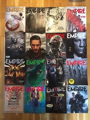 EMPIRE Magazine Collection ~ Select Your Own x4 ~~ Subscriber Edition Covers