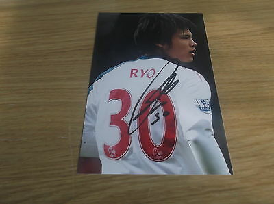 Bolton Wanderers fc Ryo Myaichi signed 6x4 action photo