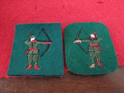 WWII/Post WWII? North Midland District Formation Badges Non-Matching