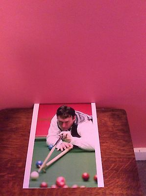 "JIMMY WHITE SNOOKER 1 PHOTO PRINT 8"" x 10"" GOOD COLOUR/QUALITY NEW"