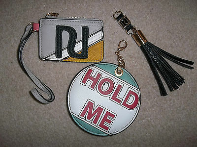Assortment River Island Bag Charms Key Rings