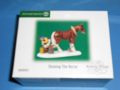 DEPT 56 DICKENS' VILLAGE DICKENS Accessory SHOEING THE HORSE NIB