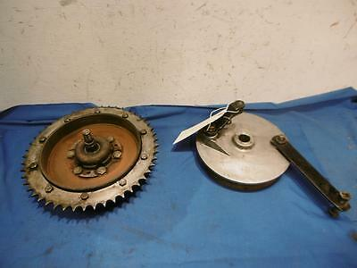 BSA B44VS B44 Shooting Star, B25 Rear Brake Hub Complete Tru 70  # 41-6022  D173