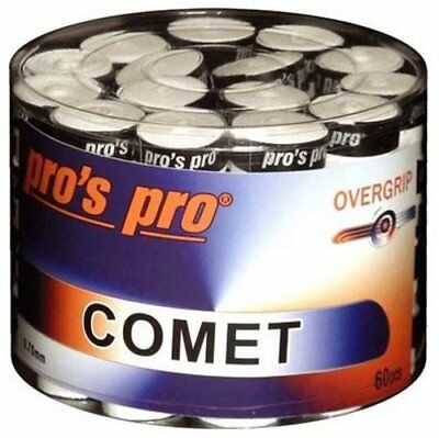 60 x Pros Pro Griffband COMET bunt/mixed (Overgrips ähnlich wie Ultra-Tacky)