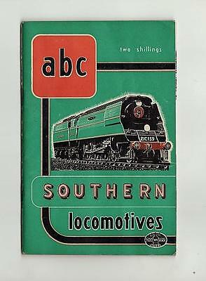 Ian Allan Abc Southern Railways Locomotives January 1948 No Underlining