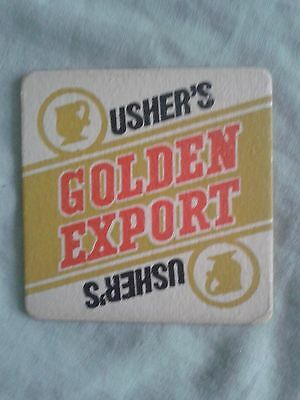 1969 THOMAS USHER BREWERY BEER MAT BBCS No. 47