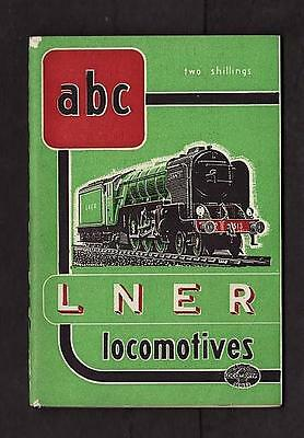 Ian Allan Abc Lner Railways London North East Locomotives 1948 No Underlining