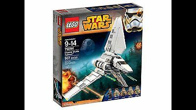 Lego Star Wars Shuttle Tydirium 75094 BRAND NEW Sealed Box FREE Signed Delivery
