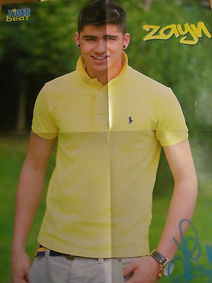 Zayn Malik, One Direction, Justin Bieber, Double Four Page Foldout Poster