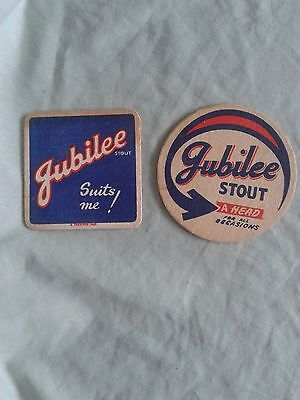 2 Hope & Anchor Brewery – Jubilee Stout – Beer Mats