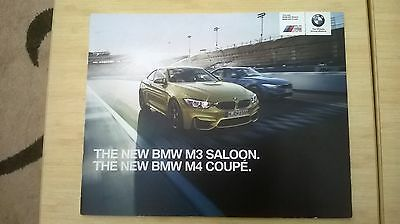 Bmw Collection. The New Bmw M3 Saloon/m4 Coupe. Press Release.