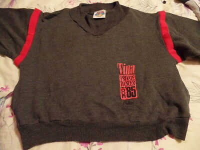 Tina Turner Private Dancer Mega Rare Official Promo Tour Sweater