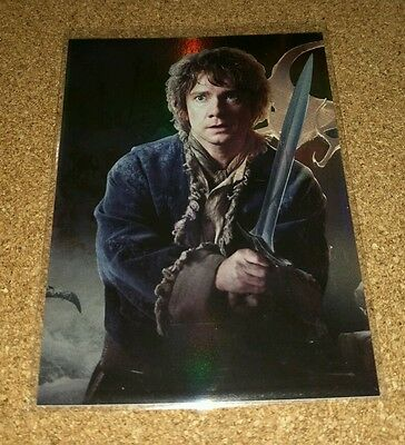 The Hobbit Desolation of Smaug: 'Bilbo & Sword' Triptych Collage Card CP1