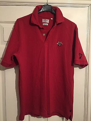 CALLAWAY GOLF - Red Polo Shirt