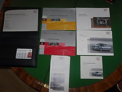 Audi A6 owners manual, Excellent condition, all books inside