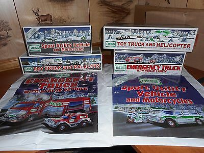 Hess Truck Lot Of 4  2003 To 2006 In New Condition