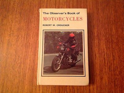 The Observers Book Of Motorcycles 1980 By Robert Croucher