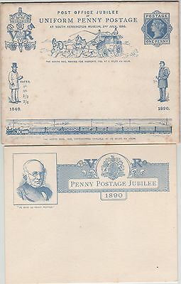 QV Uniform Penny Post Jubilee EP33 Envelope with insert.Slight Foxing at edges