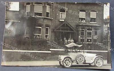 WW1 East Finchley maker - Military Auxilery Hospital -London Real photo Postcard