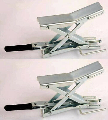 X Locking Chock Pair for Wheel Tire Rv Camper Trailer Secure Lock Tires