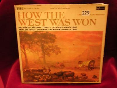 HOW THE WEST WAS WON 2LP SET + booklet - RCA RD27196/7 - 1960 - Crosby,Clooney