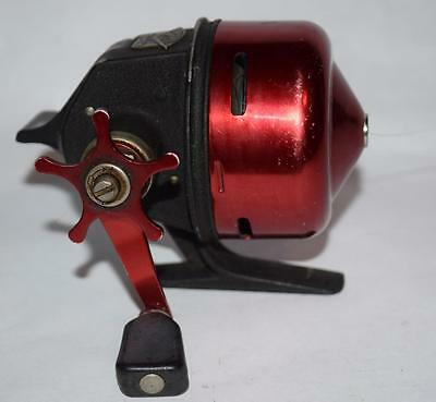 Vintage Abu-Matic Garcia no. 170 Spinning Reel - Closed Face - Sweden - Red/Nice